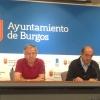 Luis Escribano y Antonio Fernández Santos durante las explicaciones.
