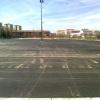 Imagen del aparcamiento disuasorio de Gamonal junto a Las Torres.