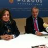 El portavoz de UPyD, Roberto Alonso, en la comparecencia de prensa