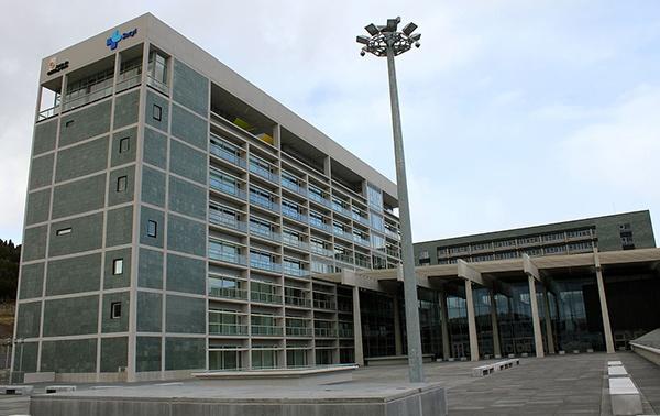 Imagen del Hospital Universitario de Burgos.
