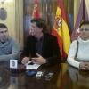Raúl Salinero, José María Jiménez y Ana Moreno forman parte de la Plataforma.
