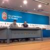 Raúl Salinero y Francisco Cabrerizo, de IU, comparecieron en rueda de prensa.