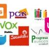Sopa de siglas políticas que aspiran al Ayuntamiento de Burgos