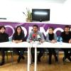Varios candidatos de Podemos Castilla y León por la provincia de Burgos.